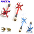 1pcs Original Aomway 5.8GHz FPV 4 Leaf Clover AV Transmission RHCP Antenna For Camera Drone dji phantom 3
