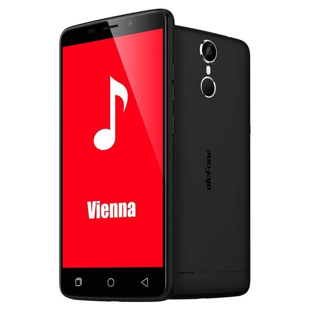 Ulefone Vienna 5.5 inch 4G Smartphone Android 5.1 MTK6753 Octa Core Cellphone 3GB RAM 32GB ROM 13.0MP Camera Mobile Phone