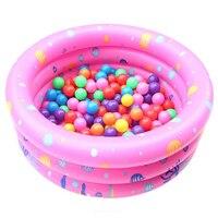 New Baby Kids Circular Thicken Swimming Pool Summer Children Inflatable Bathtub Foldable Bath Pool Portable Soft