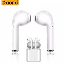 DAONO Bluetooth Earphone Headphone Wireless Headset Double T
