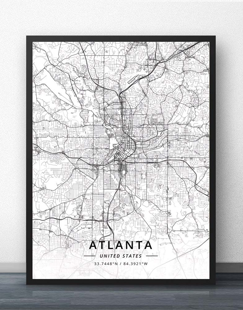 US $5.77 32% OFF|Atlanta Savannah GA Georgia USA United States of America on camera poster, wisconsin poster, team usa poster, south dakota poster, usa ww1 propaganda posters, dinosaurs poster, colorado poster, georgia poster, usa maps with cities and highways, tennessee poster, maryland poster, kentucky poster, under the sea poster, usa poster for classroom, arizona poster, north dakota poster, bike poster, florida poster, vermont poster, new jersey poster,