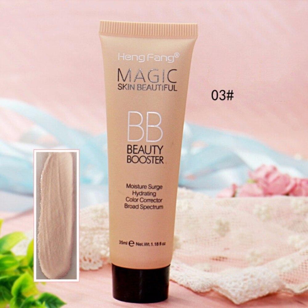 Натуральный уход за лицом тональный крем BB крем отбеливающий увлажняющий маскирующий крем Nude Foundation Осветляющий Макияж Красота лица TSLM1 - Цвет: 03 warm tan