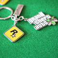 PS4 Xbox PC Rockstar Game GTA V Grand Theft Auto 5 Keychains For Men Fans