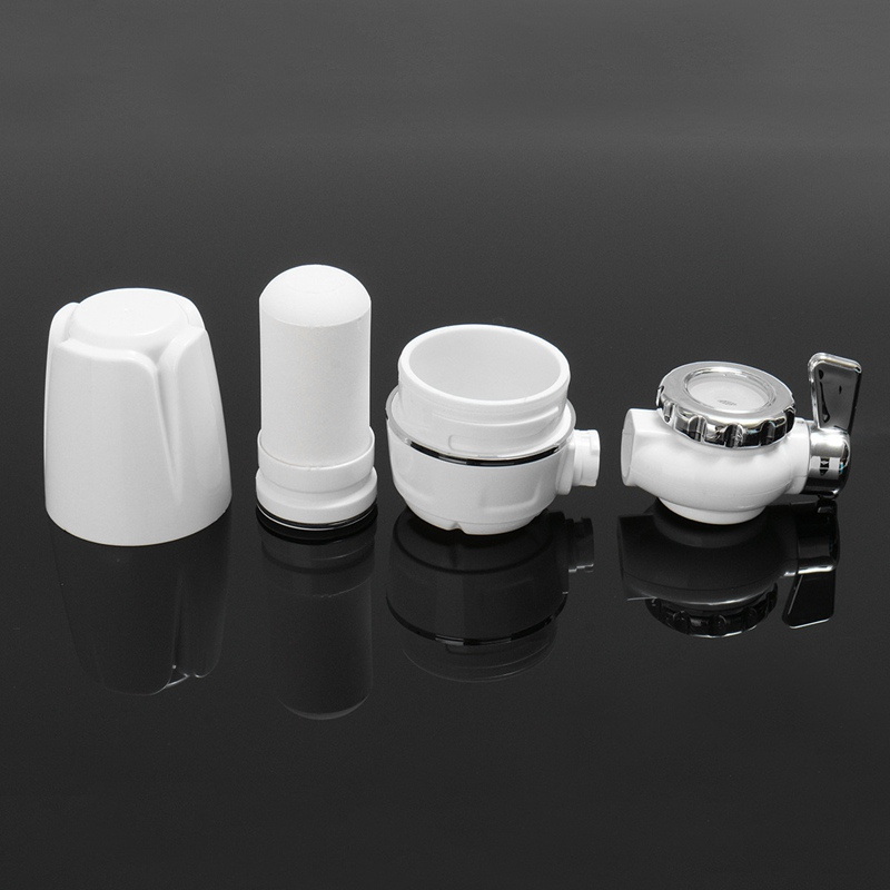 Tap Water Purifier Kitchen Water Filter Faucet Washable Ceramic Percolator Mini Water Purification Rust Bacteria Removal