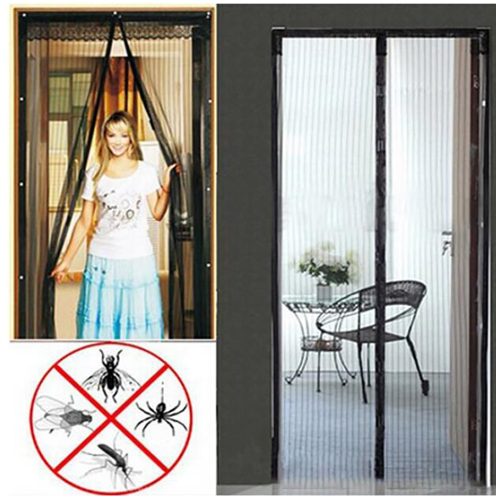 Anti Mosquito Magnetic Curtain Hands-free Mosquito Magnetic Curtain Encryption Net Style On The Door Magnets Screen Summer