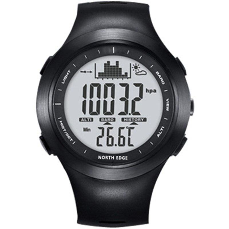 NORTHEDGE นาฬิกาดิจิตอลนาฬิกาผู้ชายนาฬิกากลางแจ้งตกปลาอิเล็กทรอนิกส์เครื่องวัดระยะสูงความสูงปีนเขาชั่วโมง-ใน นาฬิกาข้อมือดิจิตอล จาก นาฬิกาข้อมือ บน AliExpress - 11.11_สิบเอ็ด สิบเอ็ดวันคนโสด 1