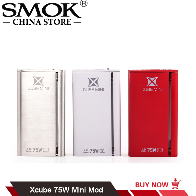 100% Original SMOK Xcube Mini 75W Temperature Control Box mod Fit TFV4 Mini Atomizer Tank VS Xcube Ultra G-Priv Mod
