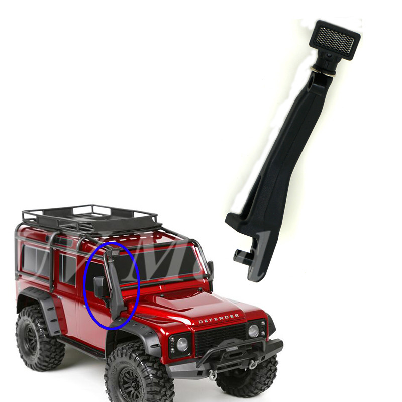 1/10 RC Car Accessories TRAXXAS Rubber Safari Snorkel for 1/10 Scale Traxxas TRX-4 T4 RC Climbing Truck Parts. стоимость
