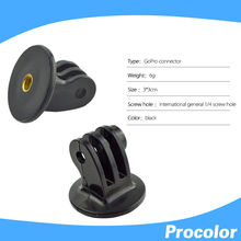 5 pcs gopro mount adapter 1/4 Tripod Mount Adapter for GoPro 4/ 3 / 2 and AEE camera