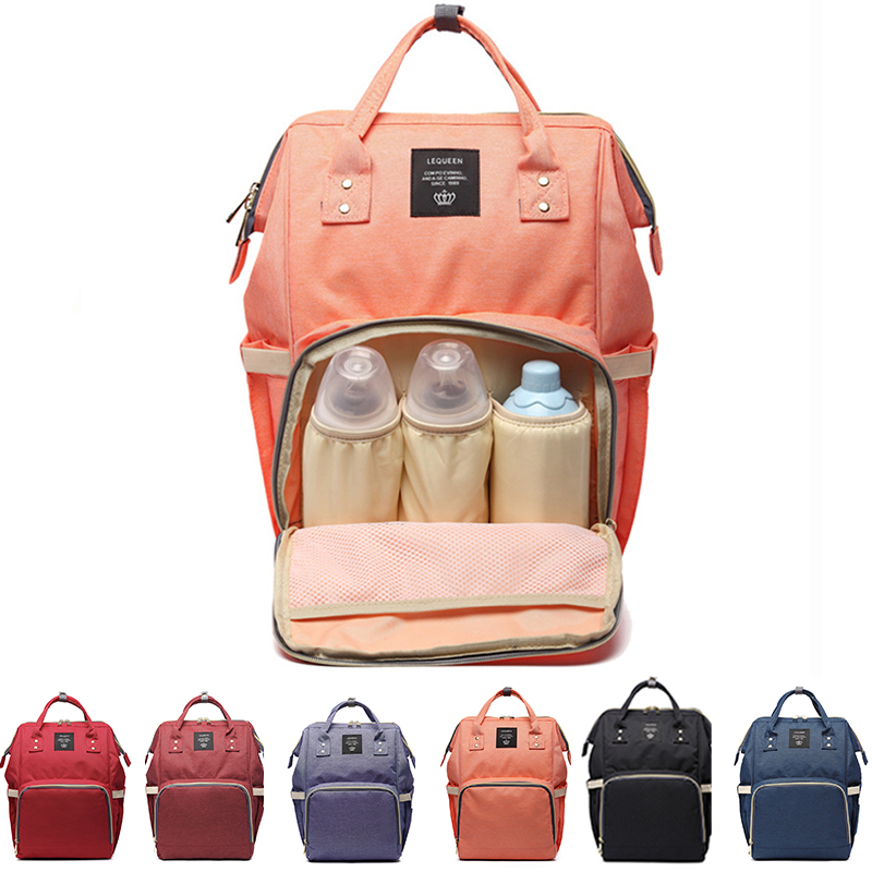 Diaper Bag Mummy Maternity Nappy Bags Large Capacity Baby Travel Backpack Designer Nursing Bag Baby Care For Dad And Mom