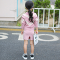 Spring Toddler Girls Clothing 2016 New Children's Sweater Korean Style Fashion Knitted Pullover Sweater Baby Sweater 2-7 Years