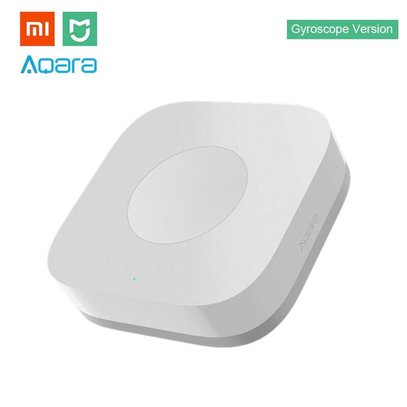 Xiao mi Aqara Smart Wireless Schalter mi ni Mit Gyro Haus Fernbedienung für mi Hause APP & mi JIA multifunktionale Gateway