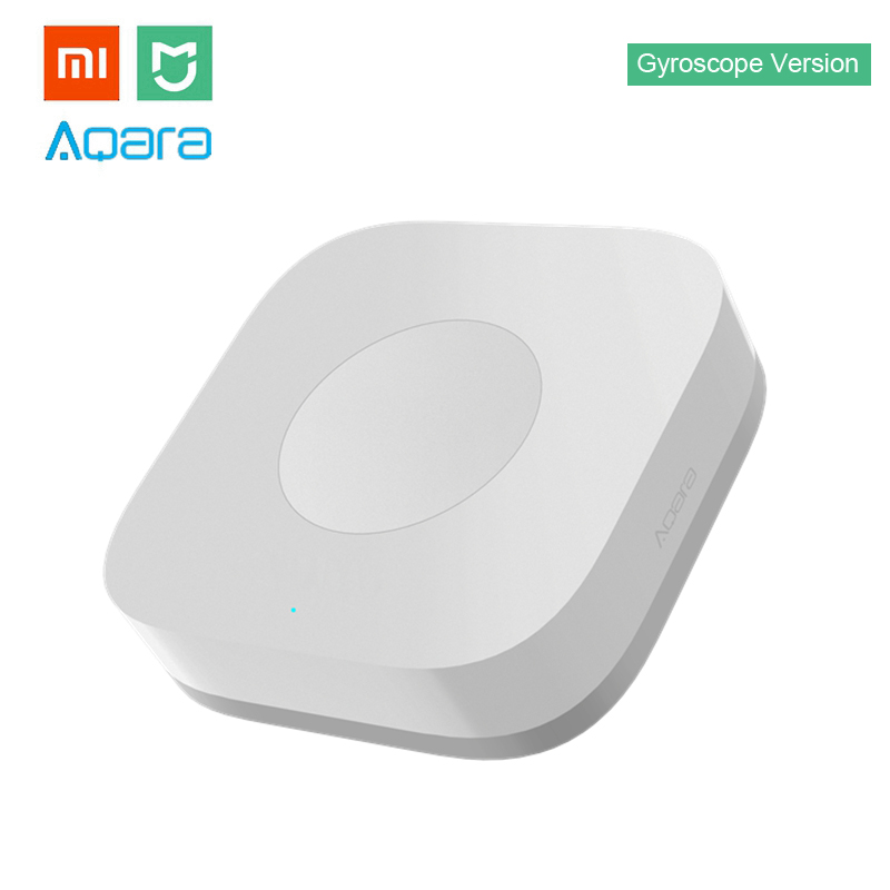 Xiaomi Aqara Smart Wireless Switch Mini With Gyro House Remote Controller for Mi Home APP & MIJIA Multifunctional Gateway