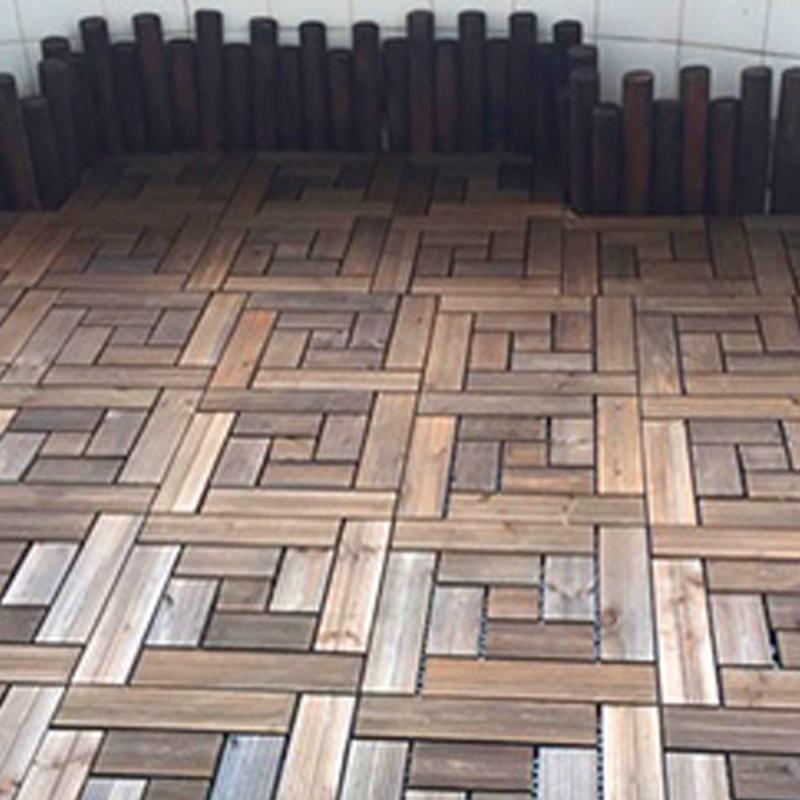 Hot Bare Decor Floor Interlocking Flooring Tiles In Solid Teak Wood Oiled  Finish