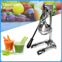 Stainless Steel Citrus Fruits Squeezer Orange Lemon Manual Juicer Lemon Fruit Pressing Machine Hand Press Juicer Home commercial