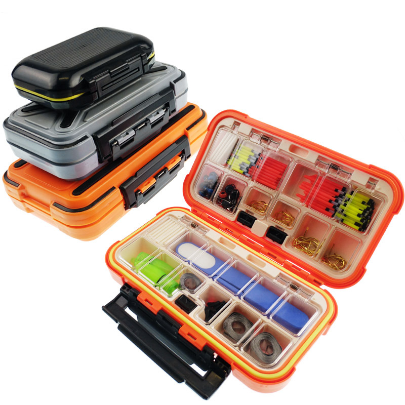 Fishing Box, Fish Hook Tool Box Road Sub Box Waterproof Fittings Box Fishing Tackle