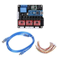 GRBL Laser Controller Board CNC USB 3 Axis Stepper Motor Driver Controller Board
