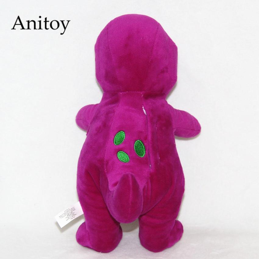 Cartoon Barney and Friends Dinosaur 30/20cm Plush Dolls Soft Stuffed ...