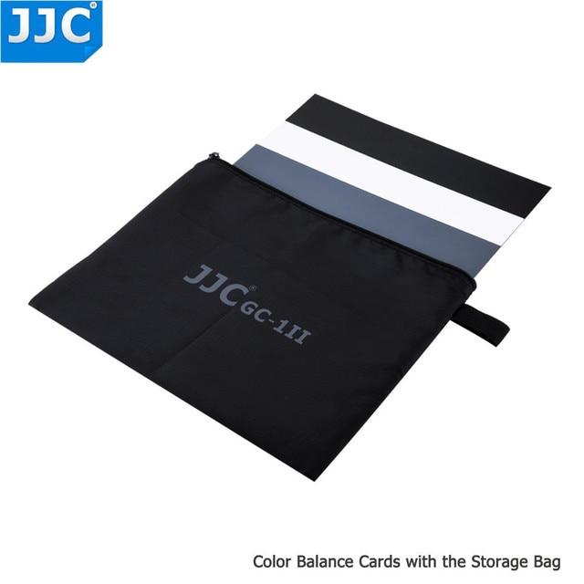 JJC Camera Accurate Color Balancing Tool Water Resistant 3 in 1 Digital Grey Card for Canon/Sony/Nikon/Olympus/Fujifilm/Pentax