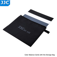 JJC 카메라 정확한 컬러 밸런싱 툴 Canon/Sony/Nikon/Olympus/Fujifilm/Pentax 용 방수 3 in 1 디지털 그레이 카드