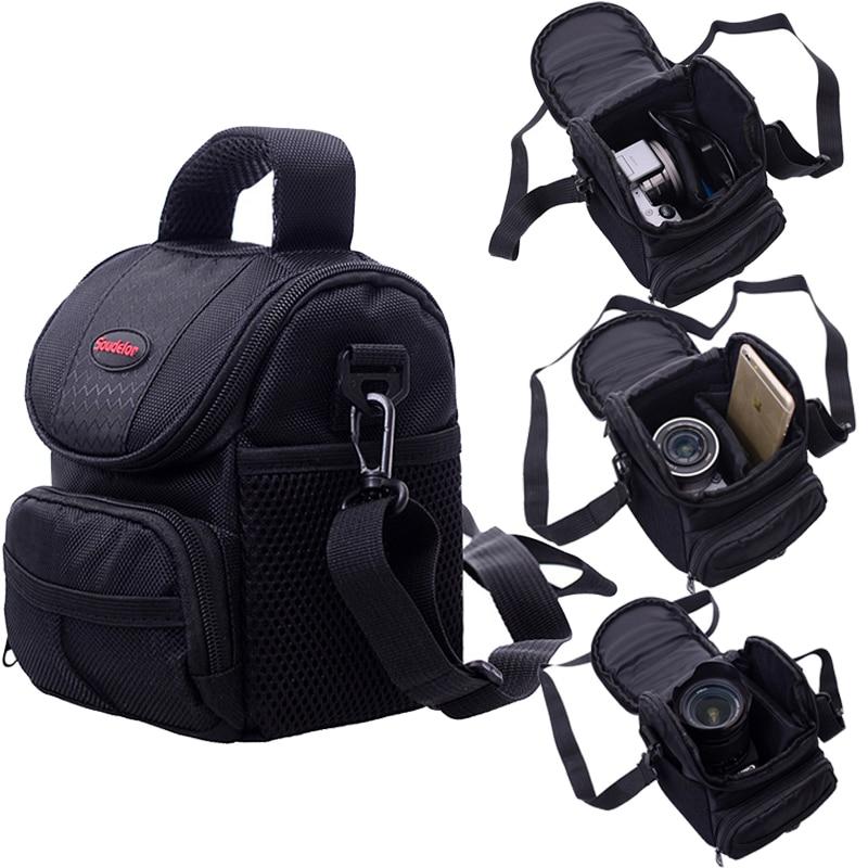 Camera Bag Case For Canon EOS 200D 1100D 1200D 1300D M50 M100 M10 M6 M5 M3 For PowerShot G1 X Mark III SX60 SX540 SX70 G5X G3X
