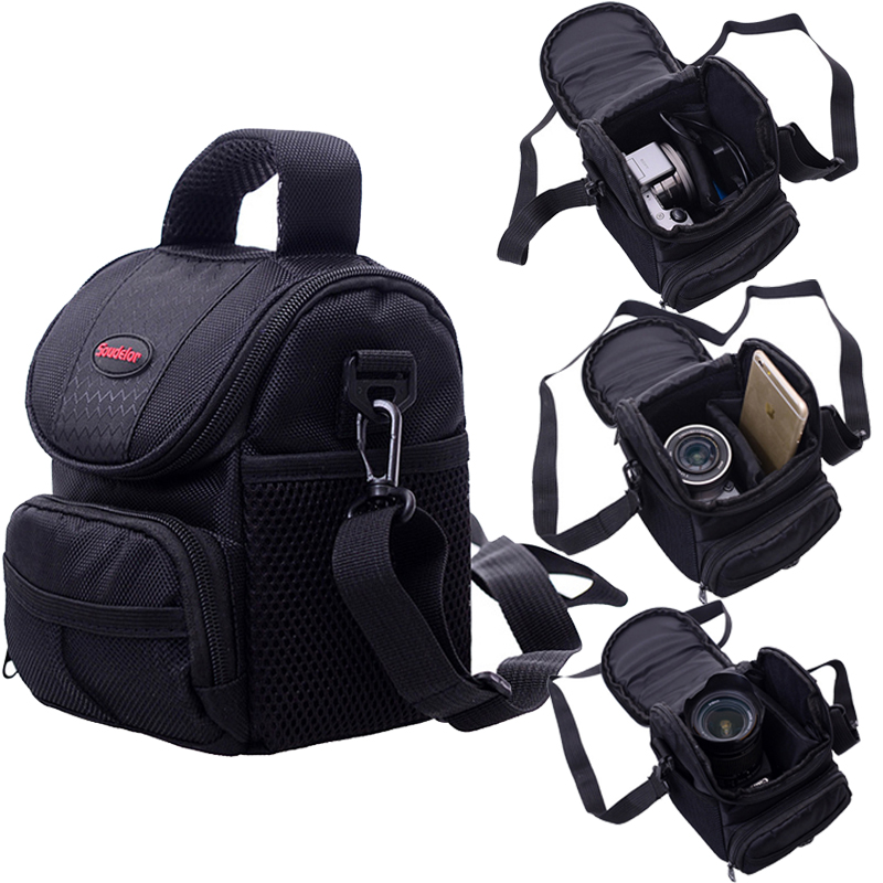 Camera Bag Case Pour Canon EOS 200D 1100D 1200D 1300D M50 M100 M10 M6 M5 M3 Pour PowerShot G1 X mark III SX60 SX540 HS G5X G3X