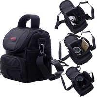 Caso Bolsa de câmera Para Canon EOS 200D 1200D 1300D M50 M100 M10 M6 Para Nikon B700 B500 PowerShot G1 X mark III SX60 SX540 SX70 G5X