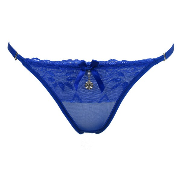 2ac61cca1 Women Sexy Lace Colorful Underwear Thongs G string Knicker Lingerie  Intimates Briefs-in G-Strings