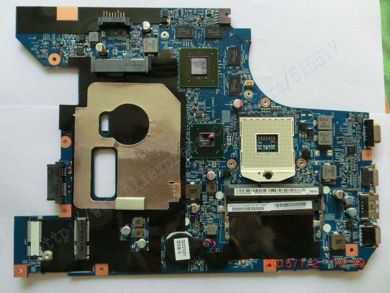 Working Perfectly For lenovo Z570 Notebook card LZ57 Motherboard N12P- GS-A1 Graphics 2GB