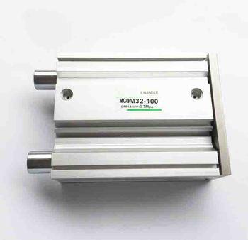 Diametro 63mm * 75mm stroke Tipo SMC Serie MGQ scorrevole cuscinetto cilindro