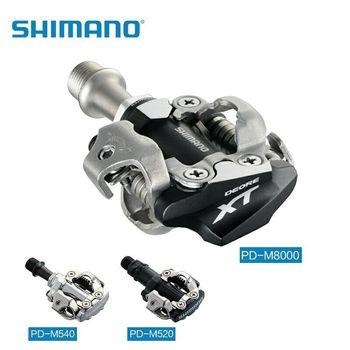 Shimano Deore XT PD-M8000 PD-M8020 M520 540 SPD automáticos Pedal MTB tacos...