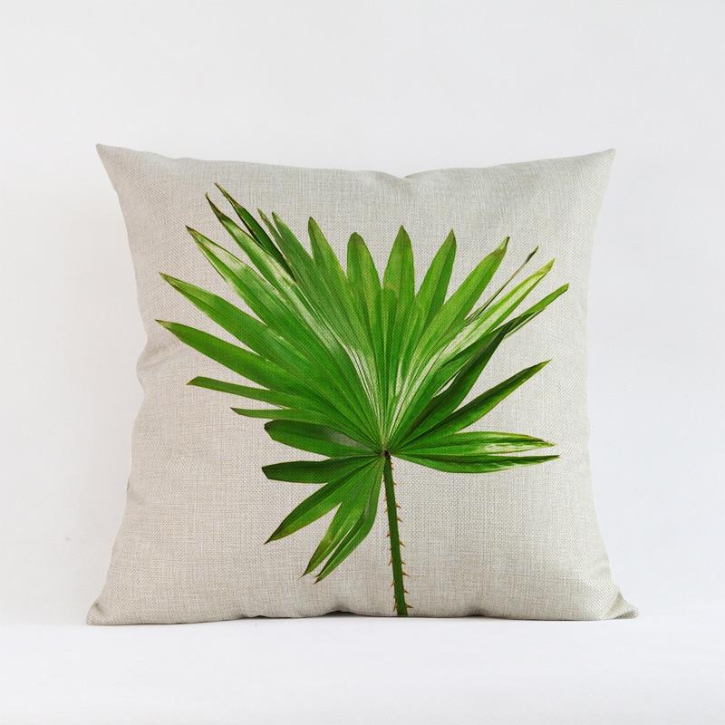 Ventas calientes Hojas verdes planta de follaje Creativo Patrón de - Textiles para el hogar - foto 6