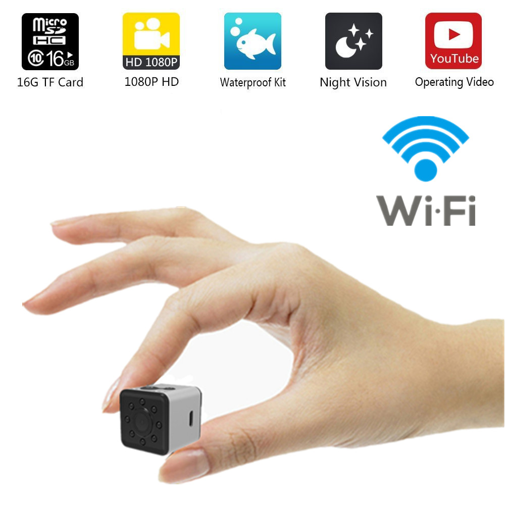 WIFI SQ13 HD mini camera WIFI small camera cam 1080P Waterproof mini wireless dv camera DVR video Sport micro Camcorders SQ 13