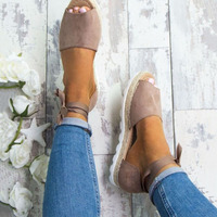 Plus Size 34 44 Flats Sandals Summer Women Sandals Fashion Casual Shoes For Woman European Rome