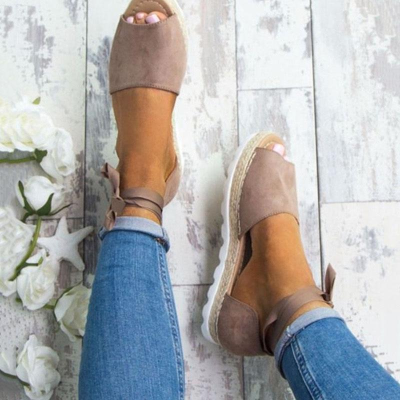 Sandale d'été femme style romain ...