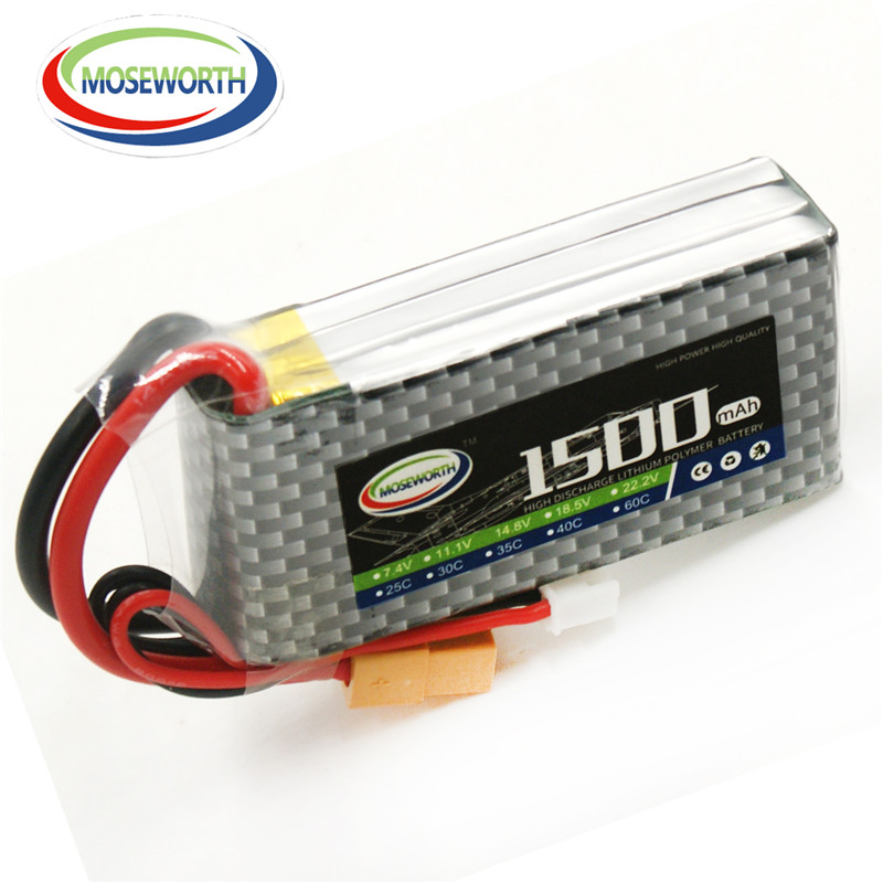 MOSEWORTH 3S RC LiPo Battery 11.1v 1500mAh 40C For rc helicopter rc car rc boat quadcopter Li-Polymer battery Free shipping yukala 4 8 v 700mah n cd aa battery for rc car rc boat rc tank 2pcs lot free shipping