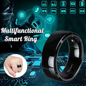 Image 2 - Waterproof Unlock Health Protection Smart Ring Wear New technology Magic Finger NFC Ring For Android Windows NFC Mobile Phone