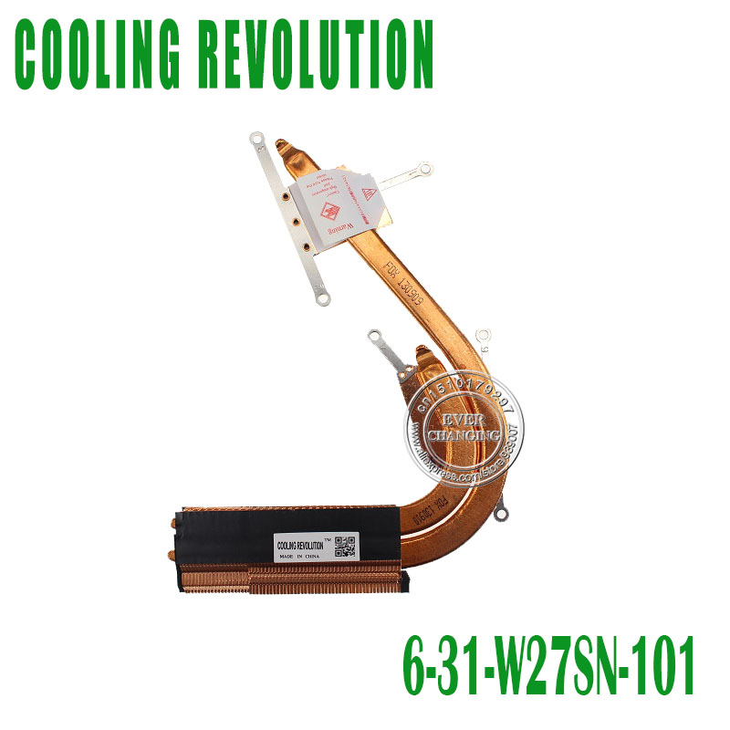 New For Clevo W27sn Heatsink 6-31-W27SN-100 image