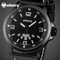 Da INFANTARIA Homens Relógio Grande Mostrador do Relógio Dos Homens de Negócios de Moda Relógios Top Marca de Luxo Militar Esporte De Quartzo-relógio Relogio masculino