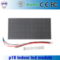 P10 full color RGB led module indoor / semi-outdoor 320mm*160mm 32*16pixels SMD 3in1 1/8 scan for Advertising media led screen