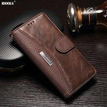 Чехол для Sony Xperia XA XA1 XZ Премиум Z6 обычный кожаный бумажник телефон Сумки чехлы для Sony Xperia XA1 XA XZ Премиум Z6 охватывает