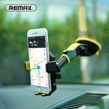 Remax Universal Mobile Stand Car Phone Holder Telescopic Adjustment Car Mount Support Phone GPS Flexible Holder For IPhone Xiomi