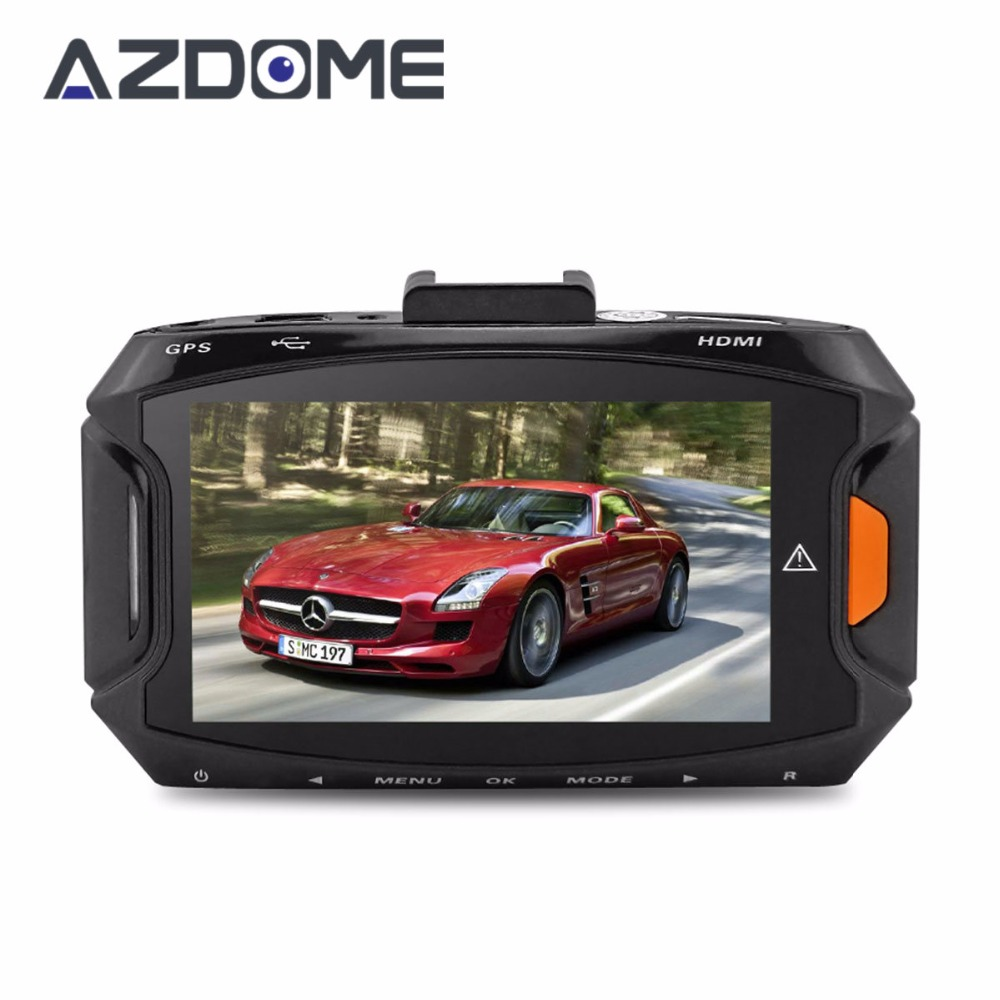 Azdome GS90A Car DVR Ambarella A7L50 Car Video Recorder Dash Cam Full HD 1296P 30fps 2.7lcd G-sensor HDR H.264 Car Camera GPS junsun wifi car dvr camera video recorder registrator novatek 96655 imx 322 full hd 1080p dash cam for volkswagen golf 7 2015