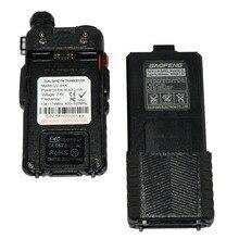 Walkie Talkie 2 PCS BAOFENG UV-8HX 3800mAh Battery DualBand VHF UHF Frequency Amateur Portable Radio