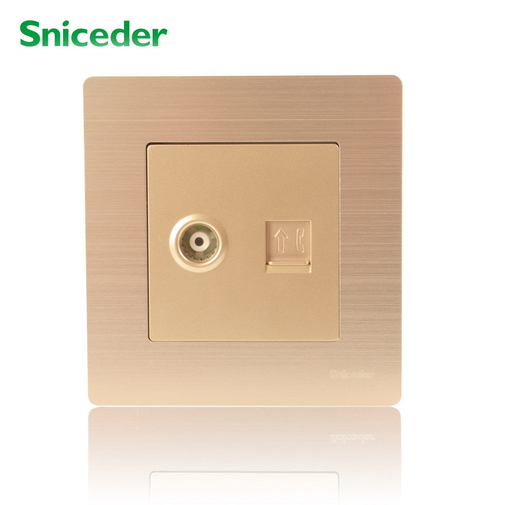 scinder outlet telephone jack cctv outlet plug tv phone jack wall plates in switches from home improvement on aliexpress com alibaba group [ 1000 x 1000 Pixel ]