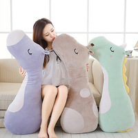 1pc 100cm Soft Large Unicorn Giraffe Horse Plush Toy Animal Stuffed Pillow Cute Baby Kids Unicorn Sleeping Pillows Doll