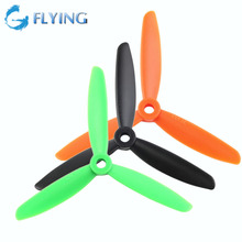 1 Pair 4045 Green Three Blades Propeller CW CCW Props for RC Quadcopter