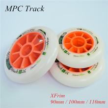 Track attack TS XFirm 110mm 100mm 90mm Inline Speed Skates Wheel using 608 bearing for Powerslide for MPC for STS 8pcs/lot