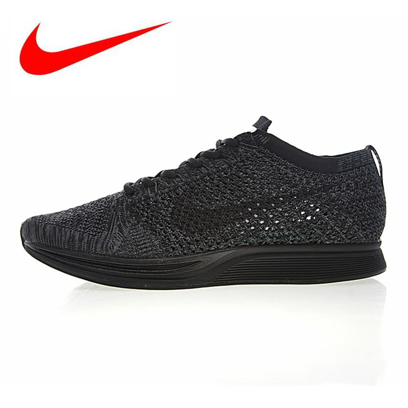 Official New Arrival Authentic Nike FLYKNIT LUNAR 3 Men s Mesh Light  Running Shoes Sneakers e8a15bb09