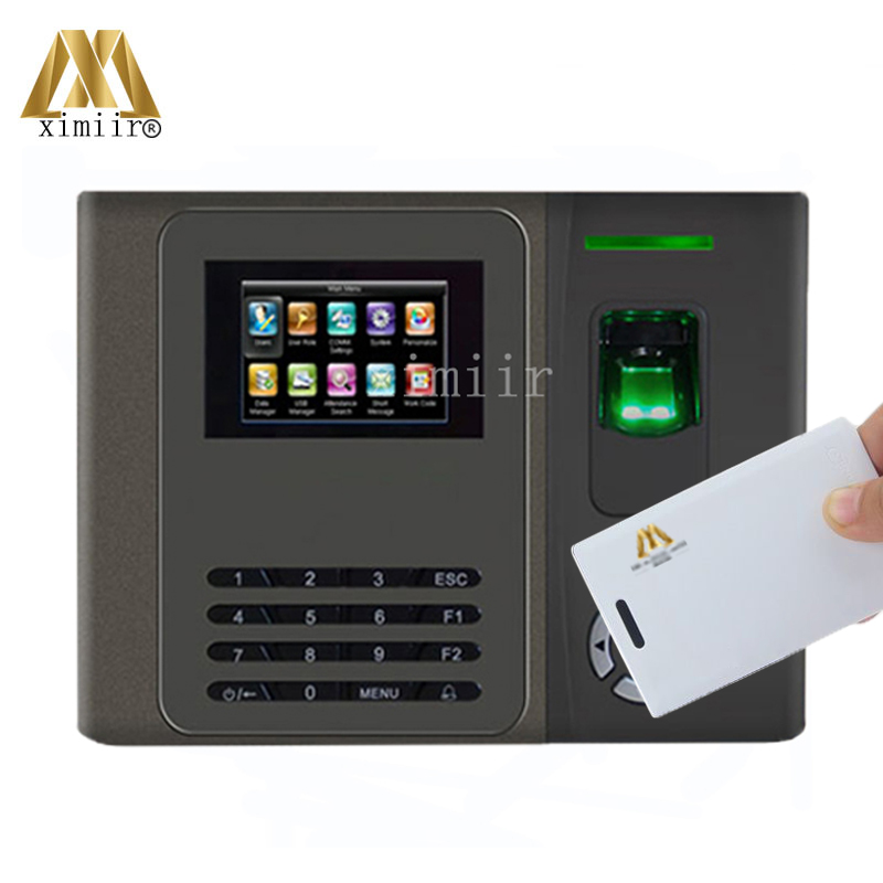 XM210 Biometric Fingerprint Time Attendance TCP/IP Finger Door Access Control System With Mifard Card Reader Time Lock